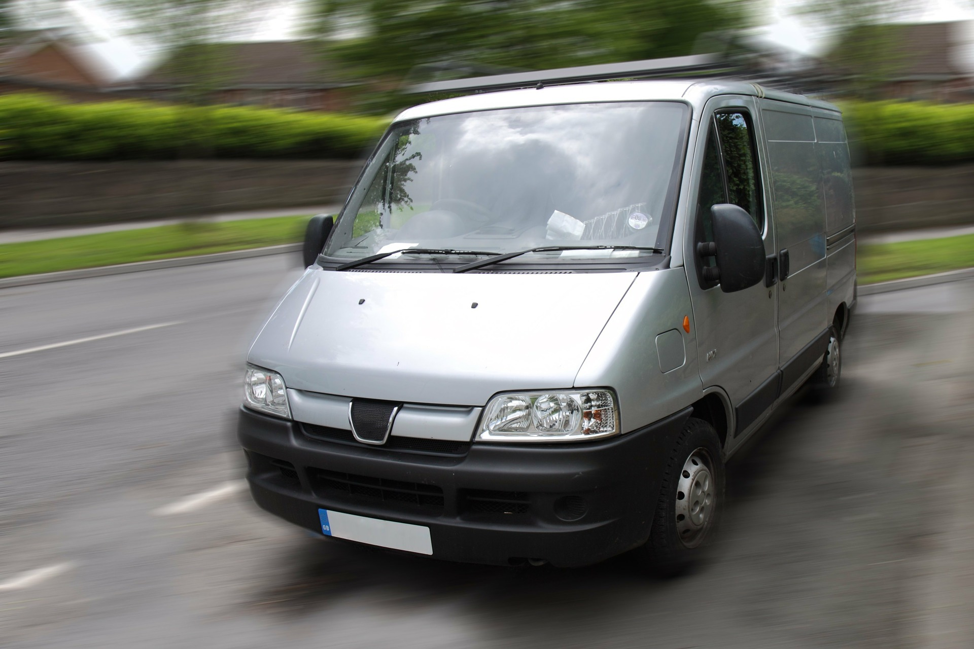 Invest in a Transit van - you won't regret it!