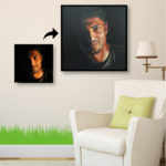 A Portrait Painting to Light up your Home